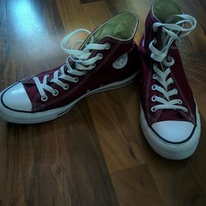 Men's Maroon Converse Chuck Taylor All Star